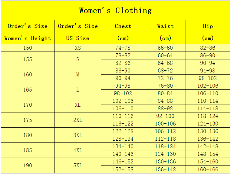 totalopt womens clothing size