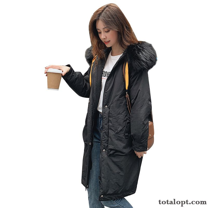 All-match Big Pullovers Temperament Trend Simple Cotton Comfortable Personality Black Elegant Tan Winered