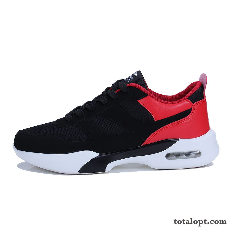 Athletic Shoes New Causal Shoes Trend Black Red Men's All-match Running Shoes Spring Student Pure White Skyblue Online