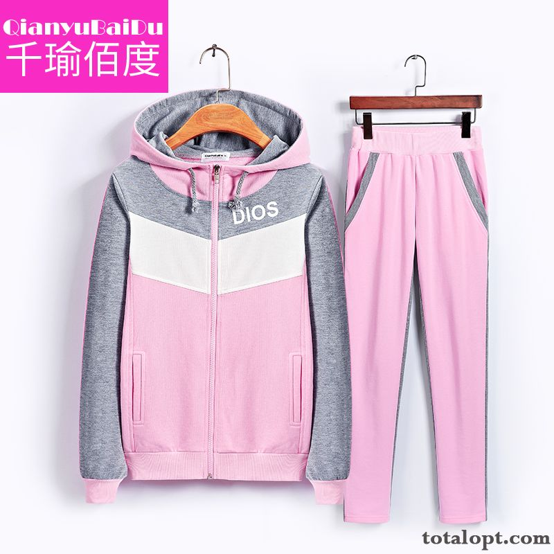6cdd0fa60c9 Cheap Leisure Fashion Two-piece Suit Long Sleeves Sweatshirt Lady Spring  Hoodies Autumn Sport New