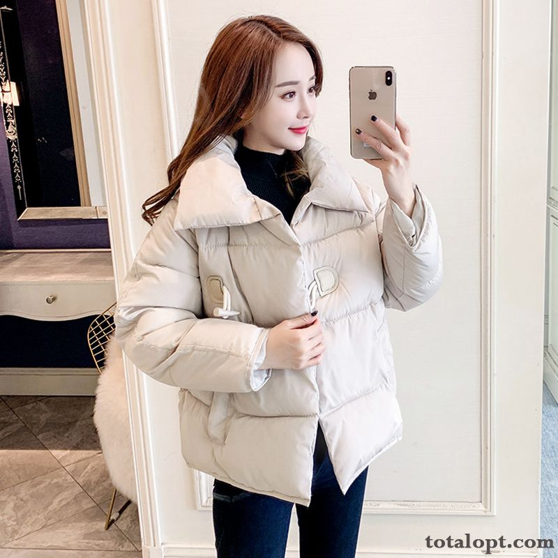 Cheap Short Europe Cotton New Thickening All-match Coat Cotton-padded White Women's Trend Winter Clothes Loose Lawngreen Garnet