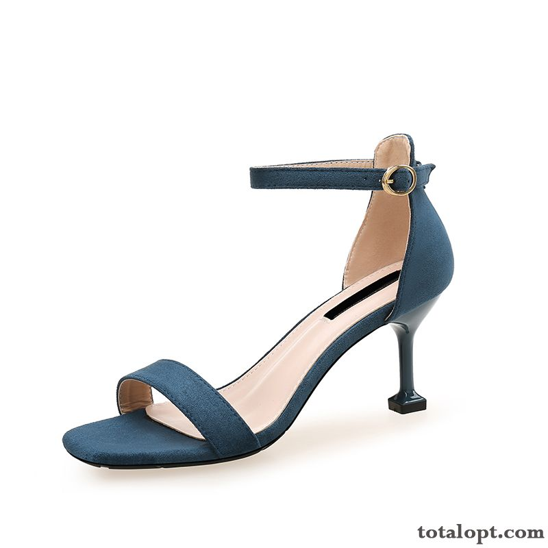 Cheap Summer All-match Trend Women New Lavender Blue