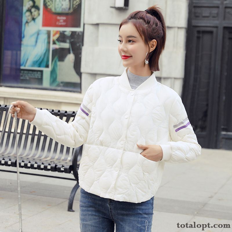 Coat White New Fashion Warm Down Jacket Earth Yellow Cyan Sale