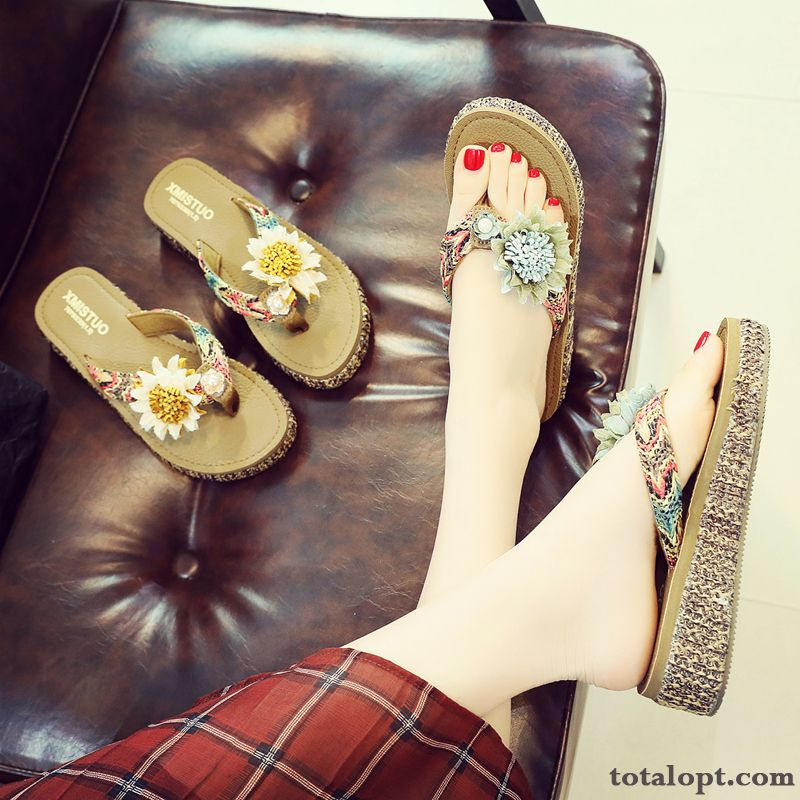 Flower Beach Summer Women Trend Flowers Fashion Garnet Earth Yellow
