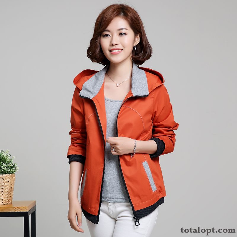 Jacket Coat Spring Loose Women's Autumn Fat Cardigan Leisure Large Size Pansy Lemon Discount