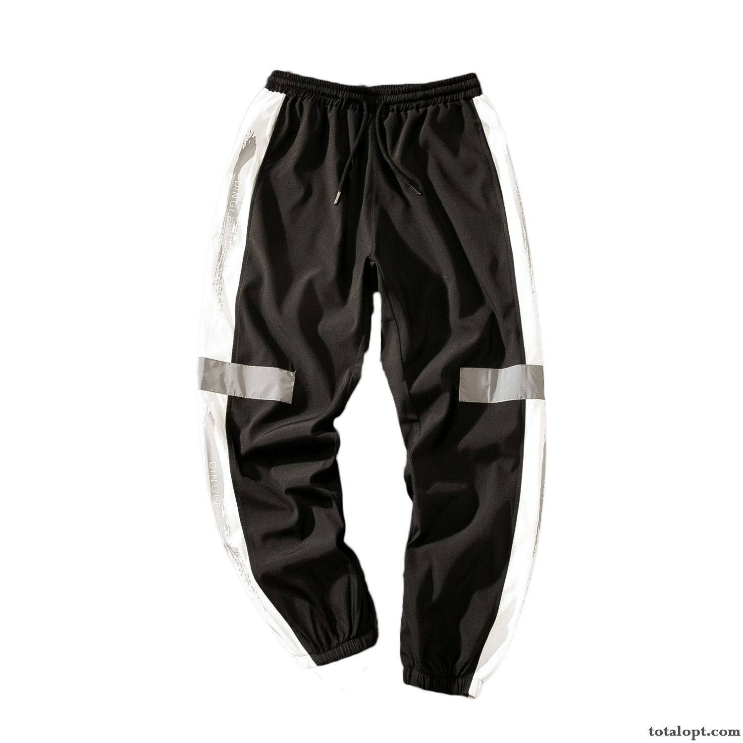 Men's Pants Trend Sport Ninth Pants Summer Fat Loose Black Skinny Europe Leisure Khaki Darkgray For Sale