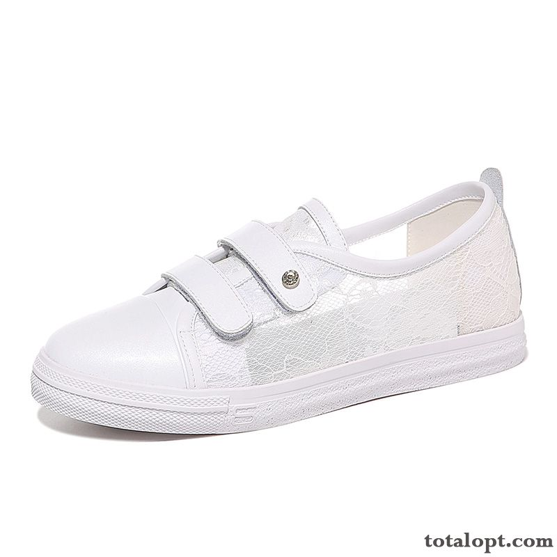 New Spring All-match Student Small Women Leisure Henna All White
