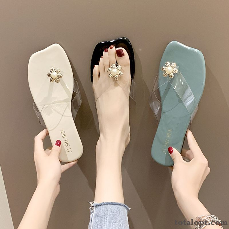 New Trend Beach Women Fashion Sky Blue Pearl White Sale