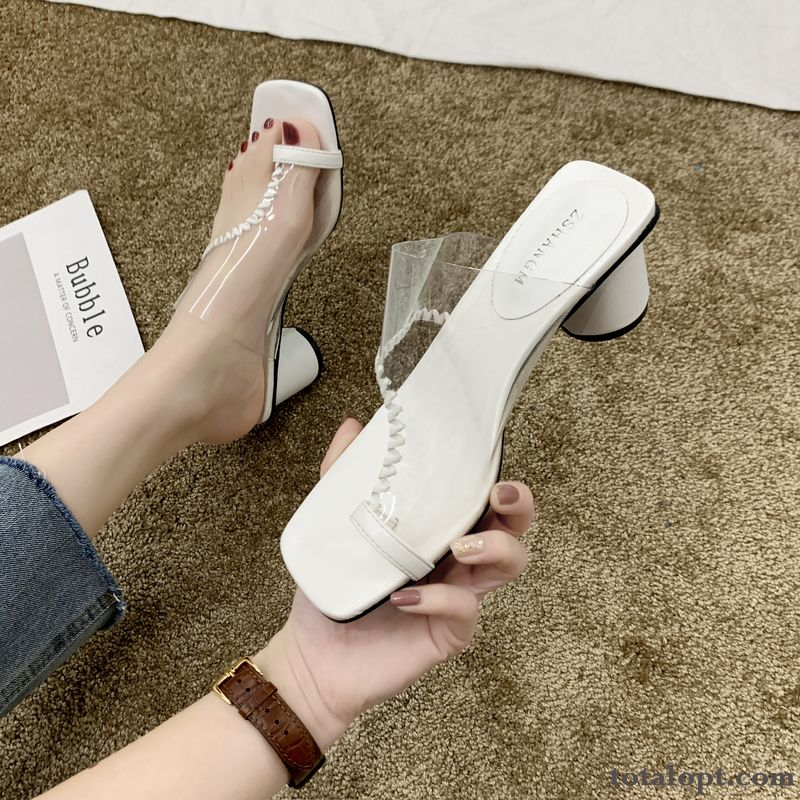 New Trend Women Summer All-match Oyster White Blue Online