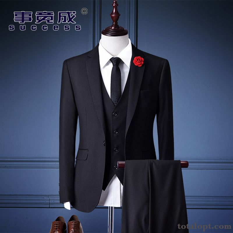 Slim Dress Wedding Suit Men's Professional Europe Breen Bisque Online