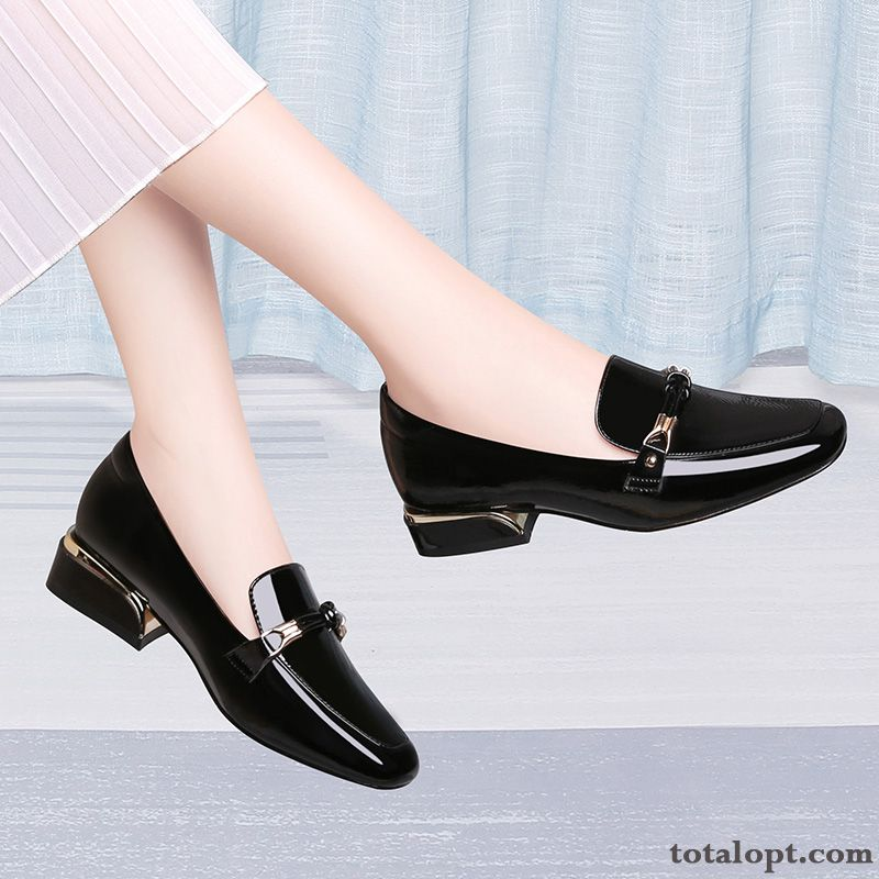 Small Patent Leather Soft Skin New Spring Women All-match Black Autumn Powderblue Green For Sale