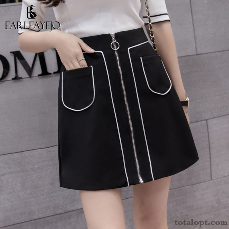 Spring High Waist A Letter Ultra Women's New Summer Short Skirts Black Autumn Garnet Turquoise Sale