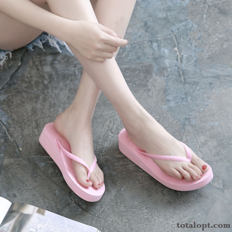 Summer Pink Fashion Women Beach New Pure Colour Blue Green Oyster White