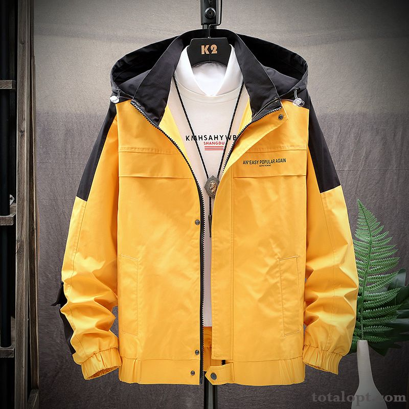 Trend Jacket Leisure Sunscreen Europe Leather Summer Men's Spring All-match Purple Coat Autumn Salmon Pink Peacock Blue